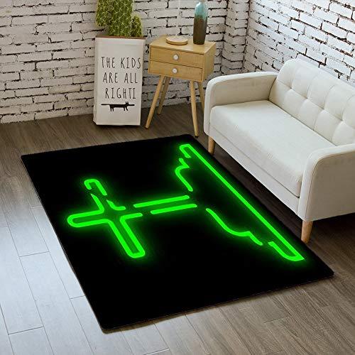 iBathRugs Door Mat Indoor Area Rugs Living Room Carpets Home Decor Rug Bedroom Floor Mats,Symbol Halloween Feast Horror Mystery]()