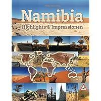 Namibia Highlights & Impressionen: Original Wimmelfotoheft mit Wimmelfoto-Suchspiel