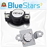 279973 Dryer Thermal Cut-Off Fuse Kit Replacement part by Blue Stars - Exact Fit for Whirlpool & Kenmore Dryers - Replaces 279973, 3391913, 8318314, AP3094323