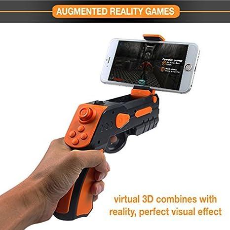 bb2312ec7e26 Amazon.com  Aabir AR Gun – Target Games Augmented Reality