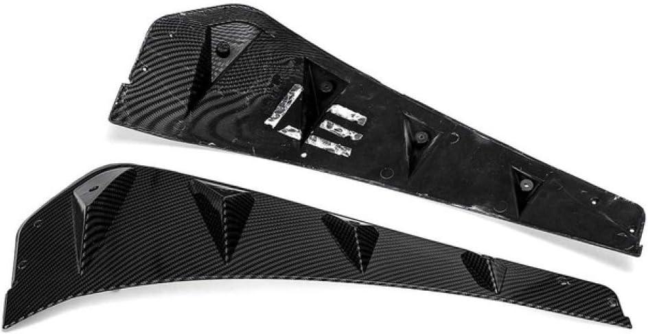 Seiten ABS 3D Aufkleber Vent Air Wing Cover Trim 2016-2019 Dmwfaker Air Flow Fender Motorhaube Lufteinlaesse Aufkleber,F/ür Honda for Civic 10