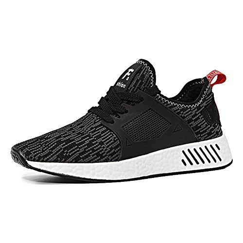 Scarpe Da Running Basse Nero Ginnastica Uomo Sneakers amp; Ming Young Sportive E4q6SS
