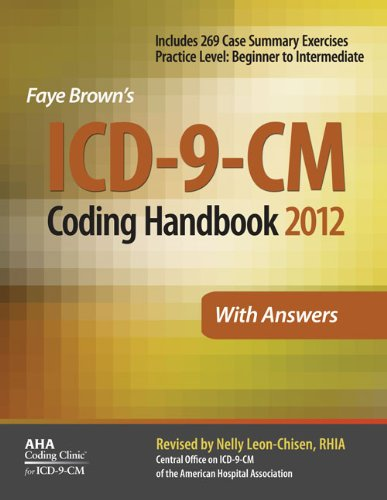 ICD-9-CM Coding Handbook, With Answers, 2012 Revised...