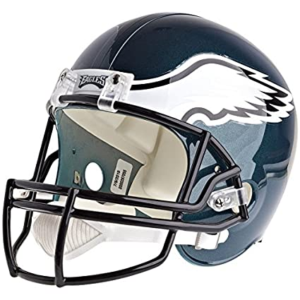 358d6a45db5 Image Unavailable. Image not available for. Color  Philadelphia Eagles  Officially Licensed VSR4 Full Size Replica Football Helmet
