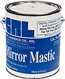 CRL Heavy Bodied Mirror Mastic in Gallon Cans by CR Laurence