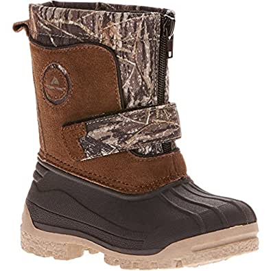 Amazon.com | Ozark Trail Boys' Zip Front Winter Boot