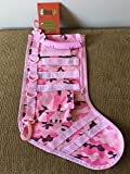 RUCKUP RUXMTSPC Tactical Christmas Stocking, Full, Pink Camo
