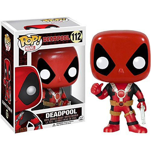 Marvel Now Deadpool Costume - Funko POP Marvel: Deadpool Thumbs Up Action Figure