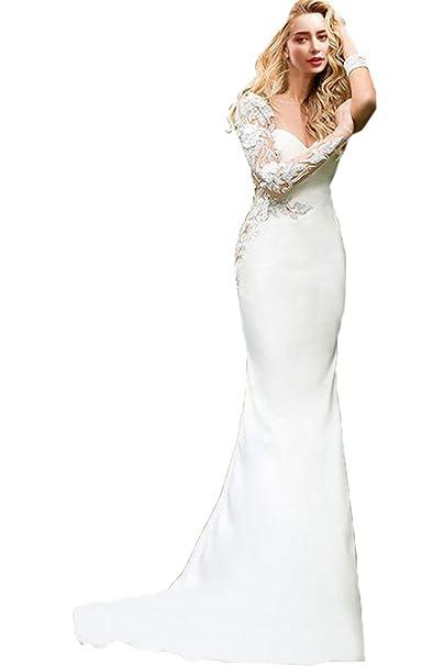 Gorgeous Novia tafetán sin tirantes vestido de novia vestido de novia (cordones Blanco blanco