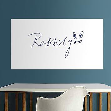 Rabbitgoo DICK Whiteboard Aufkleber Tafel Kontakt Papier Wand Sticker  Wandpapier 44.5cm X 198cm Mit 1