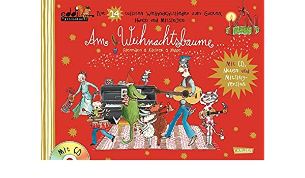 Weihnachtslieder Modern Deutsch.Am Weihnachtsbaume 9783551271259 Amazon Com Books