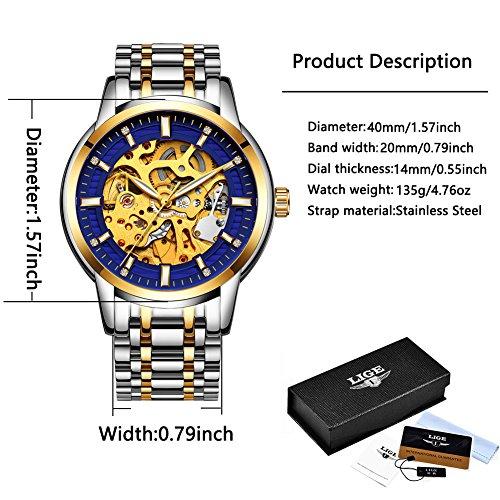 Watches-men-full-steel-Skeleton-Automatic-mechanical-watch-luxury-brand-LIGE-waterproof-business-dress-wristwatch-gold-blue