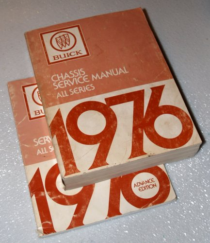 1977 Buick All Series Chassis Service Manuals (Skyhawk, Skylark, Century, Regal, Lesabre, Estate Wagon, Electra, Park Avenue, Riviera, 2 Volume ()