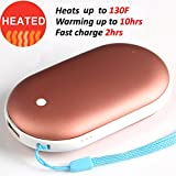 Rechargeable Hand Warmer 5200mAh 10Hour Electronic Portable Instant Heating / USB Back-up Power Back Battery For Samsung.iPhone