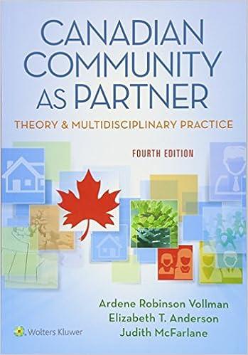 Canadian Community As Partner Theory Multidisciplinary Practice