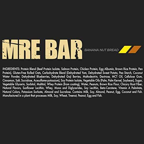 MRE Bar Banana Nut Bread (28.36 oz / 804 g, 12 Bars)
