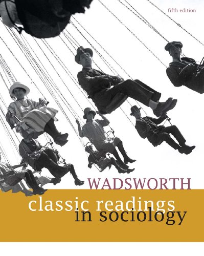 Download Wadsworth Classic Readings in Sociology Pdf