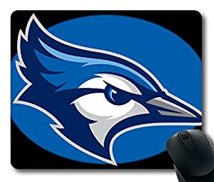 Custom Gaming Mouse Pad with Creighton Bluejays2013b Non-Slip Neoprene Rubber Standard Size 9 Inch(220mm) X 7 Inch(180mm) X 1/8(3mm) Desktop Mousepad Laptop Mousepads Comfortable Computer Mouse Mat