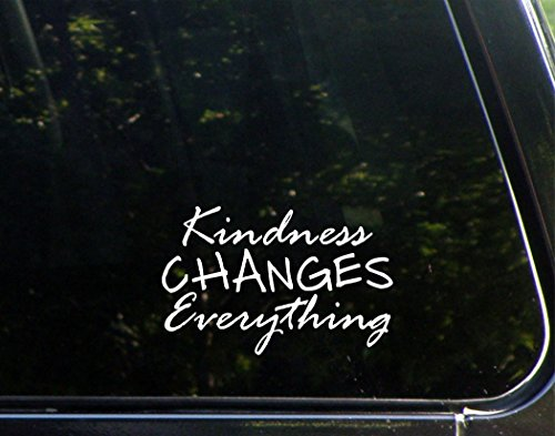 Kindness Changes Everything Sticker Macbooks product image