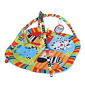 Baby Play Mat, Newborn Baby Kids Toddlers Playmat Pad Cushion Play Activity Symphony Motion Gym