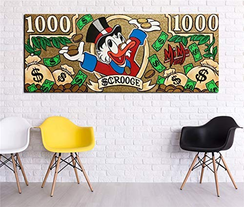 Alec Monopoly HD Print Oil Painting Home Decor Art On Canvas Uncle Scrooge