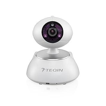 TEQIN Cámara S-AKITA Panorámica de Vídeovigilancia IP para ...