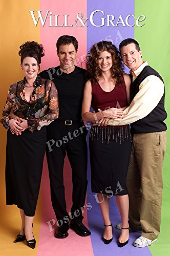 """Posters USA - Will and Grace TV Series Show Poster GLOSSY FINISH - TVS044 (16"""" x 24"""" (41cm x 61cm))"""