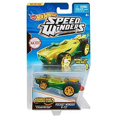 Hot Wheels Speed Winders Twist Tuner Vehicle: Toys & Games