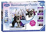 Ravensburger Disney Frozen Difference Hidden Changes 100 Piece Jigsaw Puzzle for Kids - Every Piece is Unique, Pieces Fit Together Perfectly