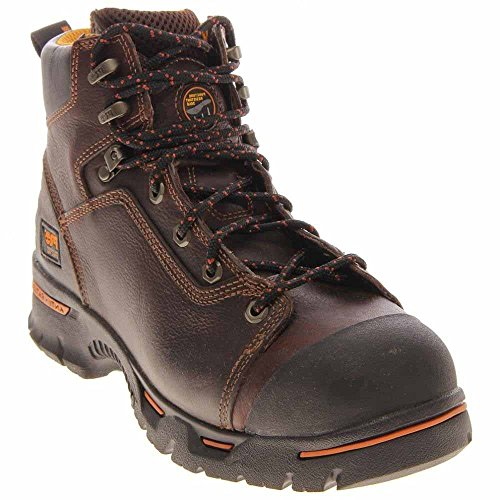 Timberland PRO 52562 Men's Endurance 6-in TiTAN XL ST PR Boot Briar 5 W US