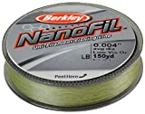 Berkley Nanofil Uni-Filament .001-Inch Diameter Fishing Line, 1-Pound Test, 150-Yard Spool, Low Vis Green Review