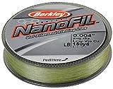 Berkley Nanofil Uni-Filament .001-Inch Diameter Fishing Line, 1-Pound Test, 150-Yard Spool, Low Vis Green Review