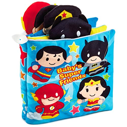 Hallmark itty bittys Justice League Baby's Super Friends Cloth Book Baby & Toddler Toys Movies & TV,Superheroes Juvenile Fiction]()