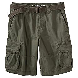 Mossimo Supply Co. Men's Cargo Shorts - Olive Green 26