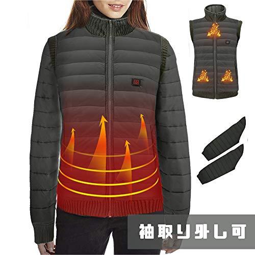 Vinmori 電熱ジャケット 電熱 ベスト ヒーターウエア の商品画像