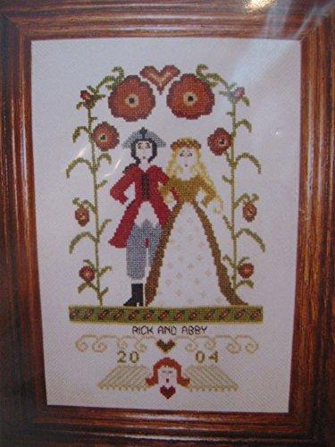 Colonial Wedding Sampler #1 Cross Stitch Chart (OOP)