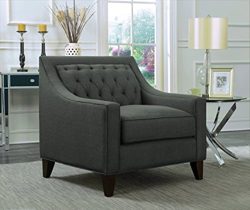 Square Fabric Upholstered Seat - 7