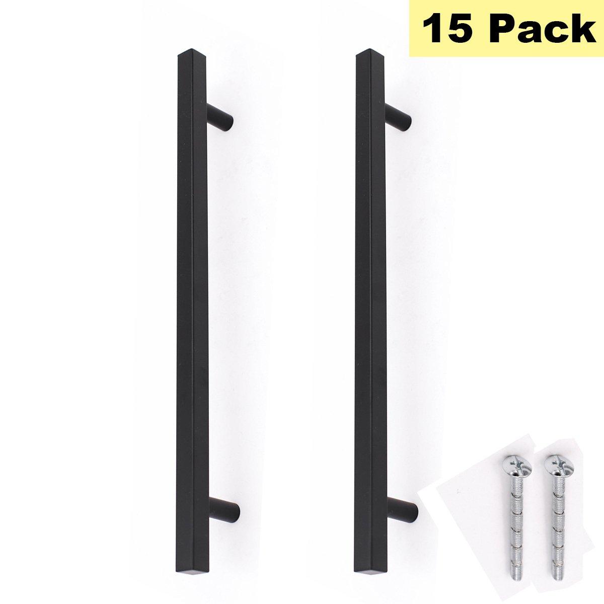 Black Drawer Pulls Large Kitchen Cabinet Handles Peaha Phj22bk224