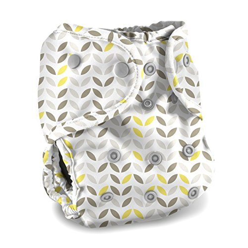 Buttons Cloth Diaper Cover - One Size (Meadow)