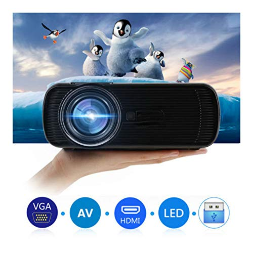 US 7000 Lumens LED LCD 3D Multimedia Projector 1080P HD Home Cinema HDMI/USB/ATV