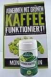 Grüner Kaffee 60 Kapseln zum Abnehmen I Mit Vitamin C und dem Spurenelement Chrom Fatburner - Erobern Sie sich 100% natürlich Ihre Traumfigur zurück. Bild 3