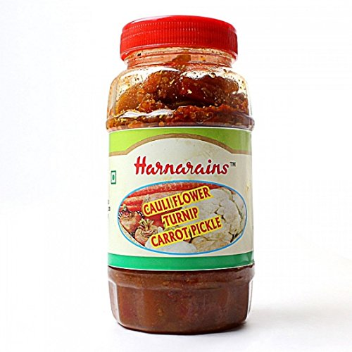 Harnarain Gokalchand (Delhi) Cauliflower Turnip Carrot Indian Pickle - 400 gm