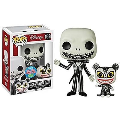 Disney Etrange Noël Jack Skellington & Vampire Ourson NYCC Exclusif Funko Pop ! Figurine En Vinyle