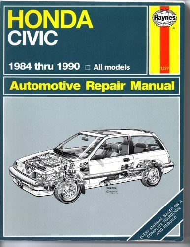 Honda Civic Automotive Repair Manual, 1984-1990 by Mike Stubblefield (1990-01-01) Paperback – 1656