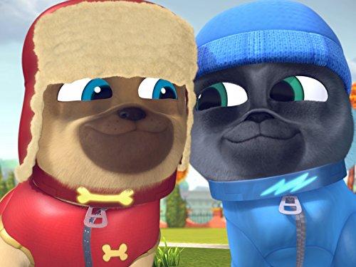 - Art for Pug's Sake/Winter Wonder-Pug