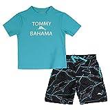 Tommy Bahama Boys' Rashguard and Trunks Swimsuit