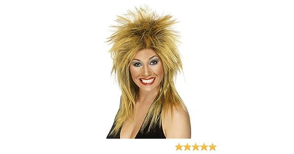 1033b0aef0 Smiffys Women s Long Ginger Rocker Mullet