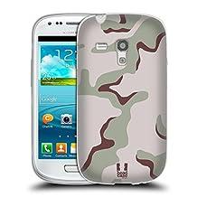 Head Case Designs Desert Tricolour Military Camo Soft Gel Case for Samsung Galaxy Core Prime