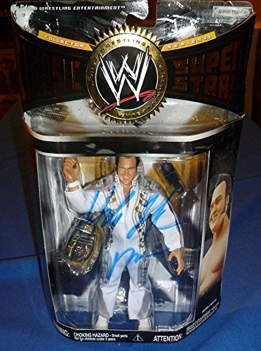 Honky Tonk Man Signed WWE Classic Superstars Action Figure COA Autograph - PSA/DNA Certified - Autographed Wrestling Cards ()
