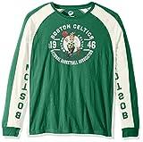 NBA Boston Celtics Adult Men Switch Hitter Long sleeve Fashion Top, X-Large, Green